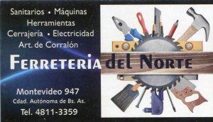 Ferreteria del Norte - Montevideo 947 - Cuidad Autonoma de Buenos Aires