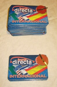 International phone cards - tarjetas de teléfono internacional
